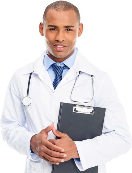 african-american-male-doctor-in-white-coat-with-st-website