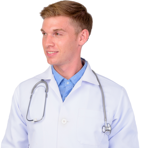 happy-young-man-doctor-with-blond-hair-thinking-2021-04-04-02-23-08-utc-website