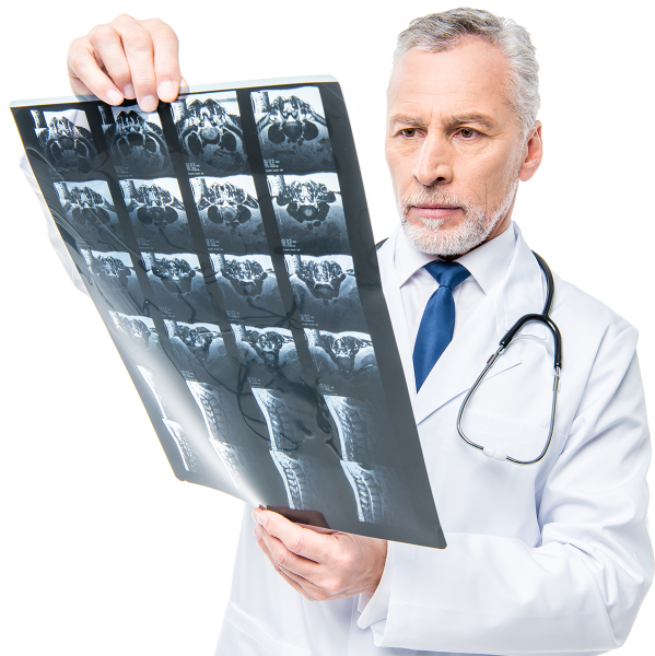 mature-male-doctor-with-stethoscope-looking-at-x-r-website
